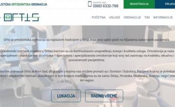 Online popunjavanje anamneze na sajtu ordinacije Ortis
