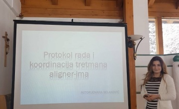 Protokol rada i koordinacija tretmana alignerima – spec. dr Jovana Selaković