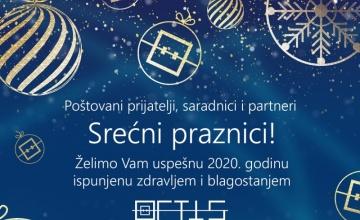 Želimo Vam uspešnu 2020. godinu - ispunjenu zdravljem i blagostanjem!